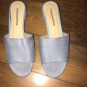 New city classified mini heels